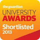 Guardian university awards logo