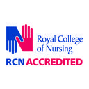 Royal College of Nursing accredited logo
