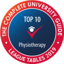Complete University Guide 2018 - Physiotherapy 8th