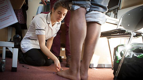 BSc (Hons) Podiatry - placement information