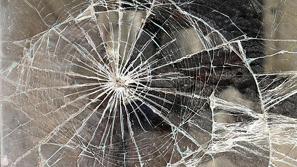 Cracked glass - image courtesy of shutterstock_145641583