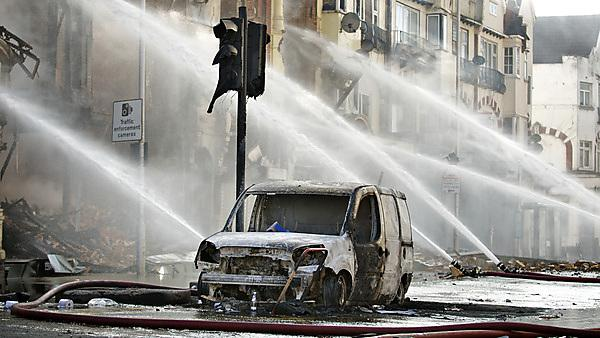 London riots clean up (image courtesy of iStock - 000017749837)