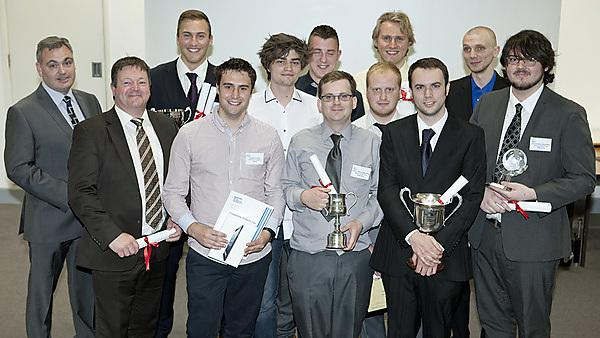 Final year project awards electrical and electronic engineering  and robotics