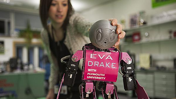 Study robotics at Plymouth