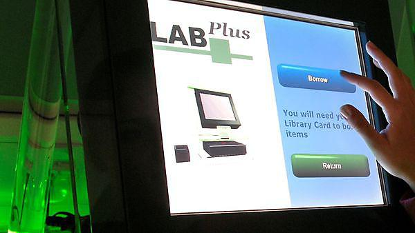 LabPlus booking out system