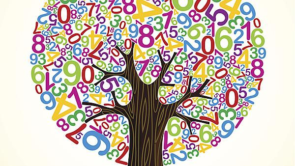 School education concept tree made with numbers by cienpies, courtesy of Getty
