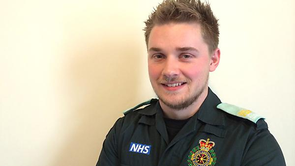 BSc (Hons) Paramedic Practitioner - student insight - Joshua Guinane