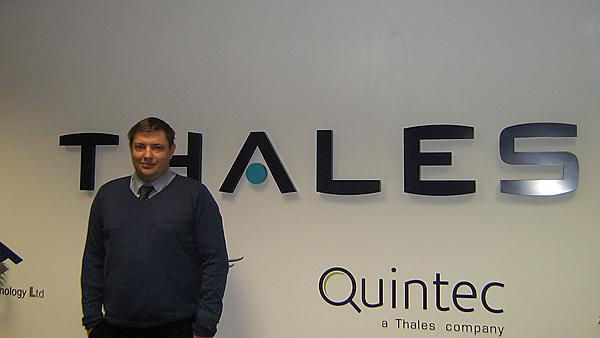 Philip Kemble - graduate profile, Graduate trainee, Thales UK