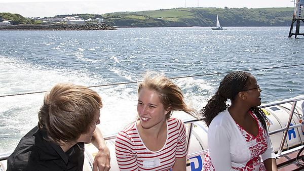 Faculty of Business - BSc (Hons) Maritime Business, Induction boat trip.