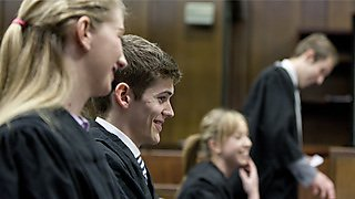 Students mooting in Plymouth Crown Court