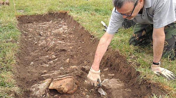 Archaeologist for Geoflo; Archivist at the Wells and Mendip Museum; Glastonbury Abbey Museum - Pete Missingham