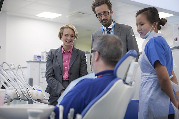 New Chief Dental Officer for England visits Plymouth University