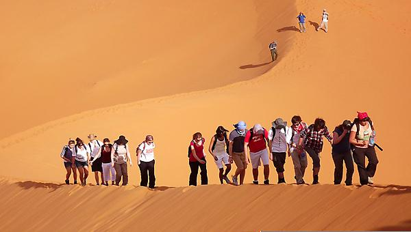 Geography fieldwork in Morocco
