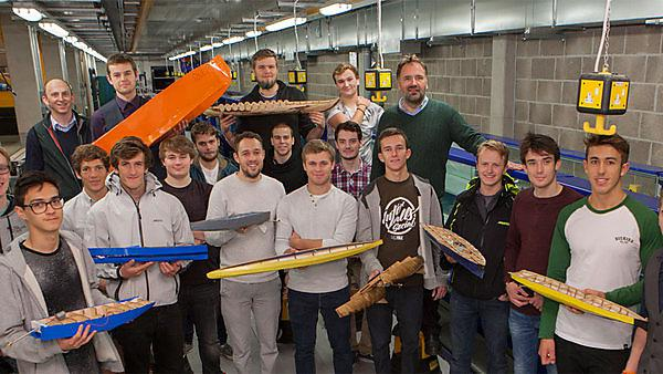 Student boat and plane engineers