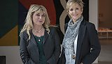 Helen Lederer and Judi Spiers