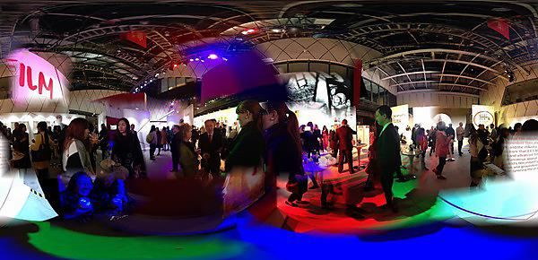 360 Panorama of the British Council's Great Creator, UK Graduate Show 2015 in Beijing. Taken by David Hilton.