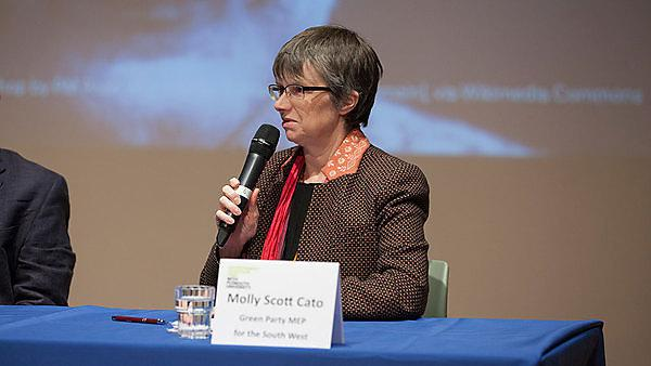 Molly Scott-Cato, Green MEP for South West England