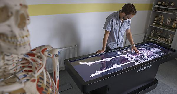 Virtual dissection table a first for Plymouth medical and dental schools