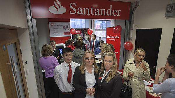 Plymouth University Santander Branch staff event