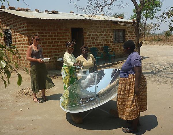 Zambia solar cookers