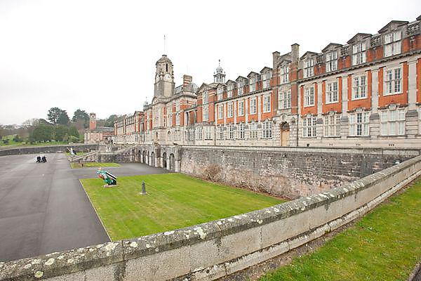 The Britannia Royal Naval College at Dartmouth
