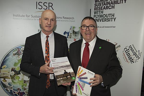Professor David Coslett and Tudor Evans