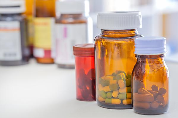 Medication/pill bottles - image courtesy of Shutterstock