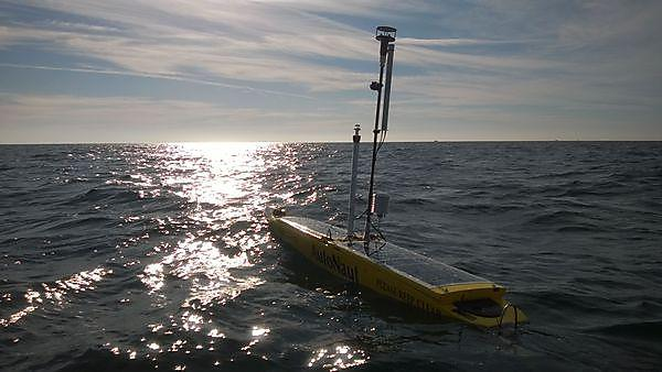 University receives unique wave-propelled AutoNaut for scientific research and teaching