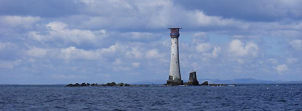 The Douglass Tower on the Eddystone Reef (Credit: Helen Nance/University of Plymouth)