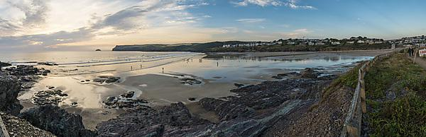 Polzeath panorama