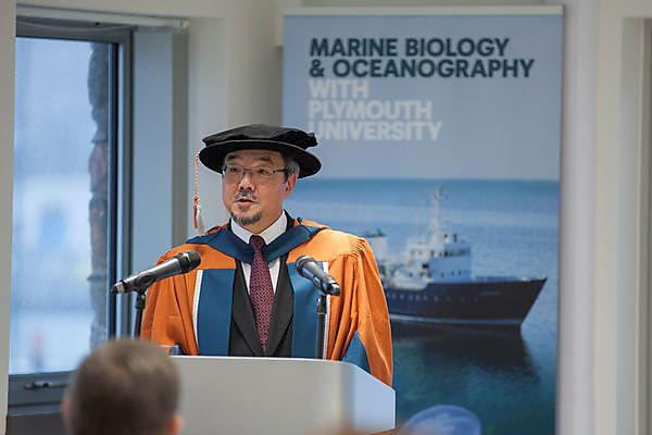 Plymouth University awards honorary doctorate to the Secretary-General of the IMO