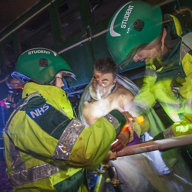 Paramedics crisis