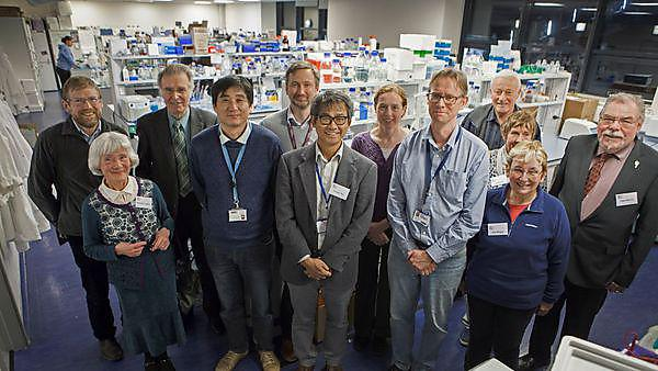 Lab tour showcases Plymouth Parkinson's disease research