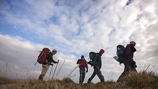 University of Plymouth second year environmental science students take on a two-day expedition on Dartmoor.