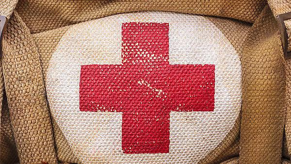 Shutterstock: red cross