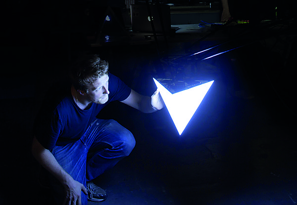 Ruarri Glynn installation artist