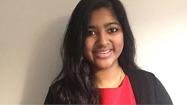 Brigitte Varughese - current Plymouth University BSc (Hons) Mathematics and Statistics with Foundation Year student.