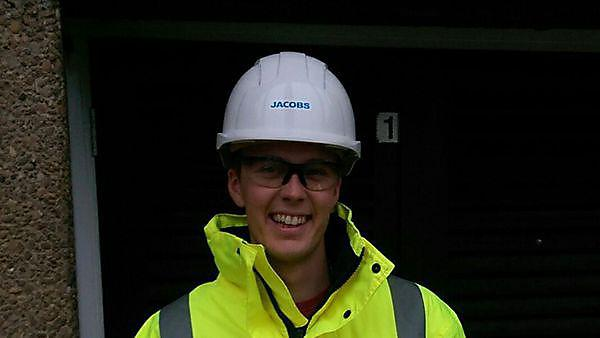 Ben Robbins is in year three of studying MEng (Hons) Civil Engineering and is currently on his industrial placement year with Jacobs (2015-16).