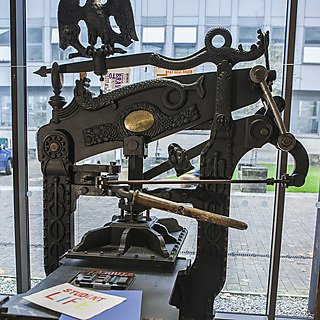 Plymouth University has three of the few Columbian presses still at work in the UK, dating from around 1850