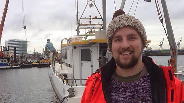 Alan Robertson – MSc Hydrography graduate