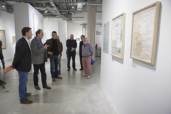 Speakers, organisers and delegates of the rewildng talk exploring the Soil Culture exhibition in Peninsula Arts at Plymouth University