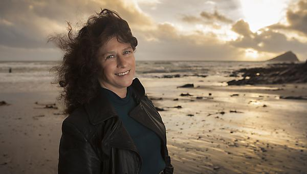 Professor Camille Parmesan Prof: NMA Chair in Public Understanding of Marine Science & Human Health School of Biological Sciences. pictured at Wembury Beach