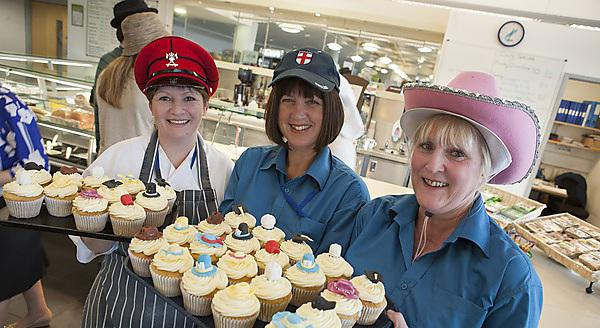 Members of staff raise money for Brain Tumour Research