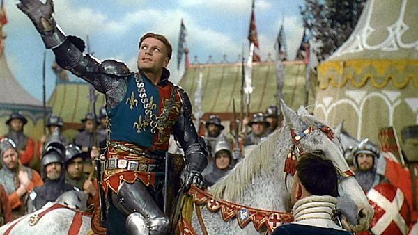 Sir Laurence Olivier acted in, and directed, Henry V