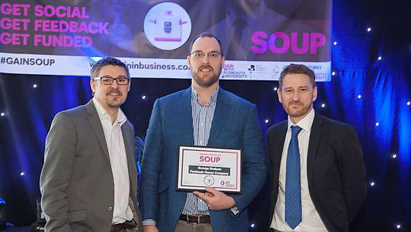Honey company wins first GAIN SOUP event