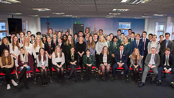 Cornish school earns double success in second annual business presentation competition