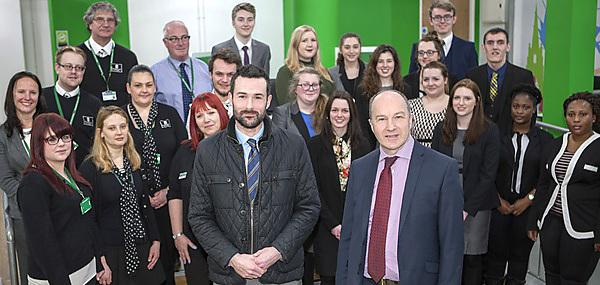 Law students take employment and family advice into the community