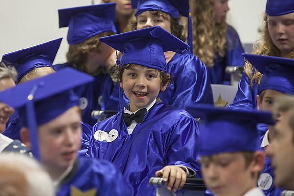 Children's University graduation