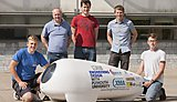 The design and build process was led by Adam Kyte, Lecturer in Mechanical and Marine Engineering Design