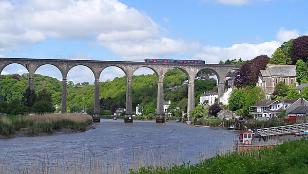 Calstock Viaduct on the Tamar Valley (credit: Devon & Cornwall Rail Partnership)